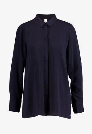 RADIA - Button-down blouse - navy