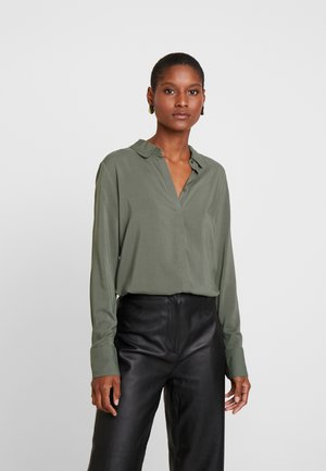 RADIA - Button-down blouse -  khaki