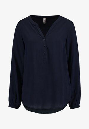 AZRA SOLID - Blouse - navy