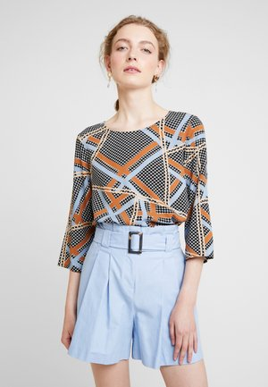 BIRNA - Bluser - faded blue combi