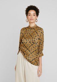 Soyaconcept - CELENE - Blouse - golden brown combi - 0