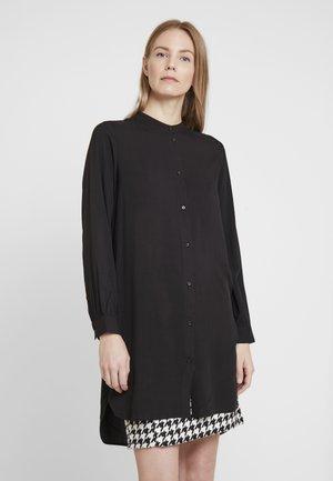 SAMMY - Button-down blouse - black