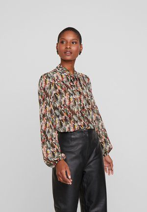 ELLA - Blouse - dark army combi