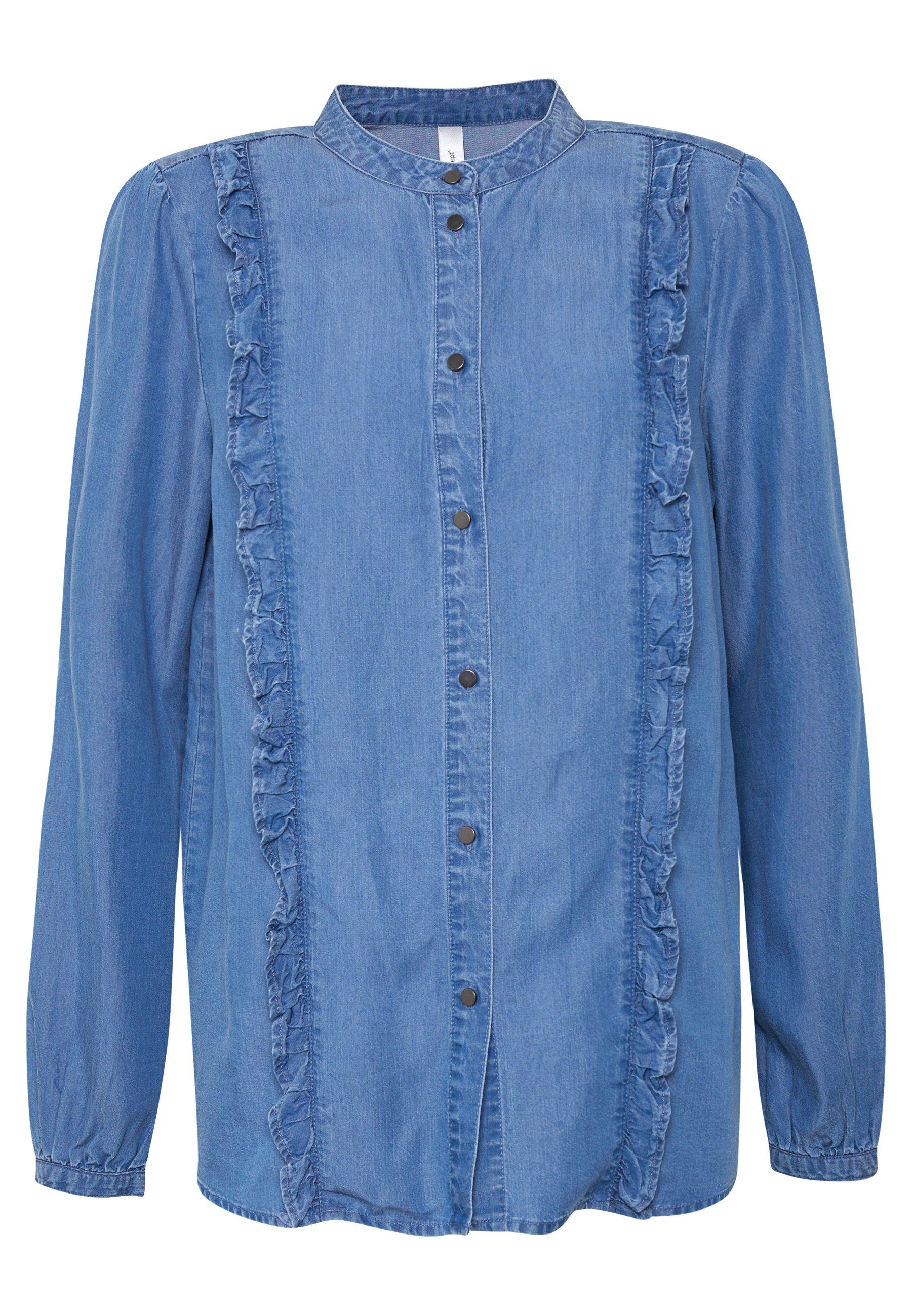 Soyaconcept LIV - Koszula - medium blue