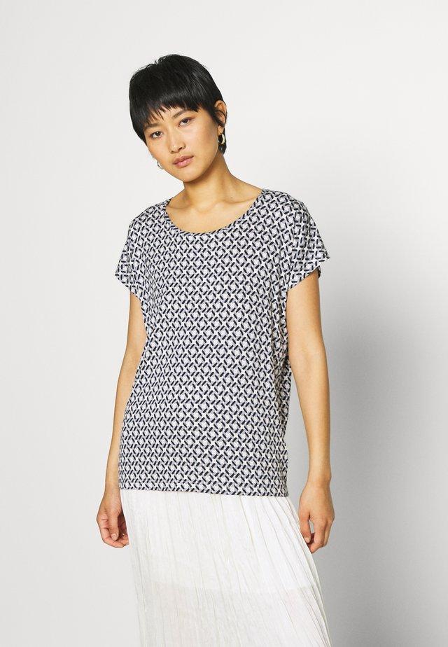 SC-KATINKA 1 - Print T-shirt - dusty blue combi