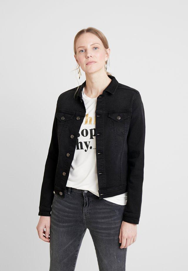 ANDORA - Denim jacket - medium grey