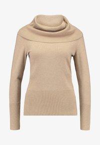 Soyaconcept - DOLLIE - Stickad tröja - camel melange - 3