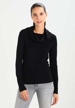 DOLLIE - Stickad tröja - black