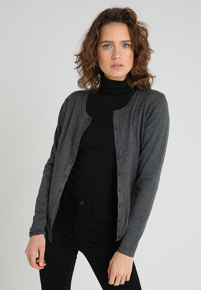 DOLLIE - Cardigan - grey melange