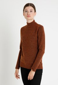 Soyaconcept - NESSIE - Sweter - rusty melange - 0