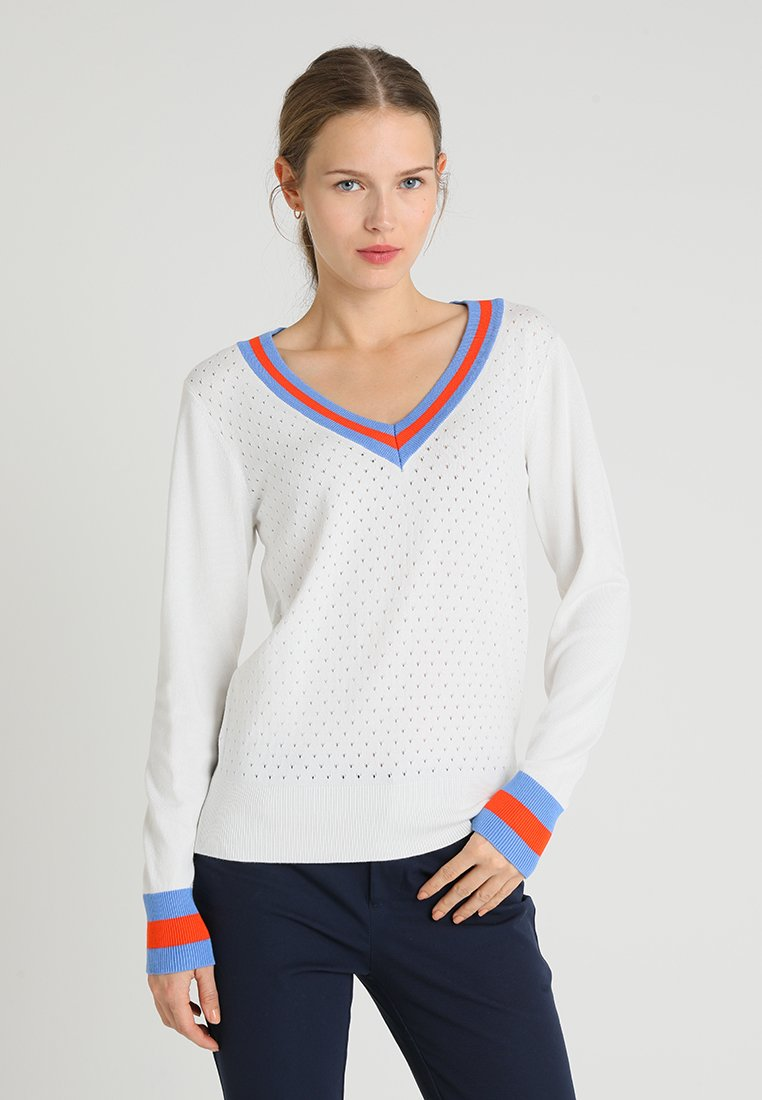 Soyaconcept - DOLLIE - Strickpullover - off white combi