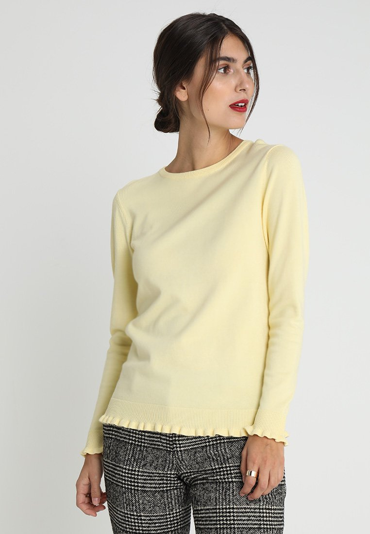 Soyaconcept - DOLLIE - Maglione - pastel yellow