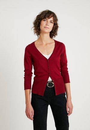 DOLLIE - Cardigan - cabernet