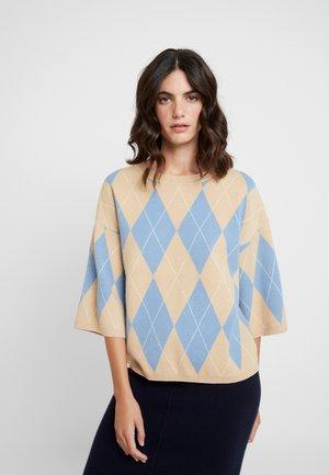 Jersey de punto - faded blue/ combi