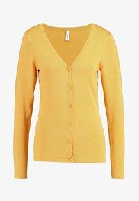Soyaconcept - DOLLIE - Cardigan - honey yellow - 4