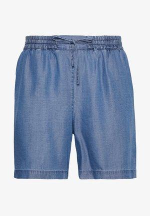 Shorts - medium blue denim