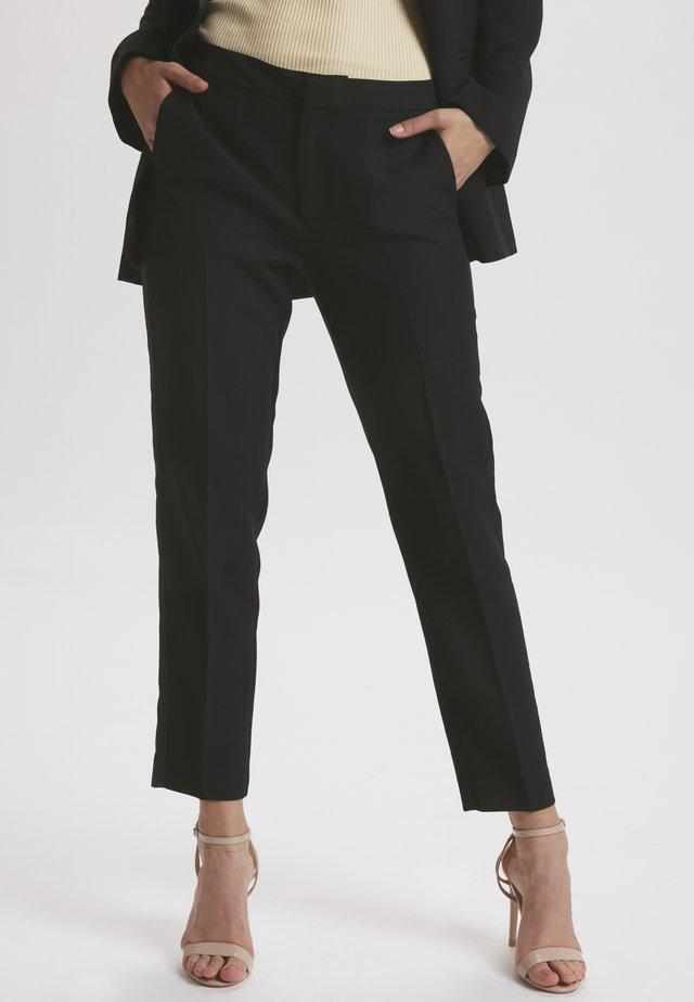 SLFRIKKA  - Pantalones chinos - black