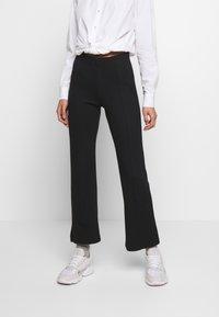 Soaked in Luxury - GENEVIEVE PANTS - Pantaloni - black - 0