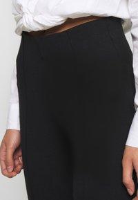 Soaked in Luxury - GENEVIEVE PANTS - Pantaloni - black - 4
