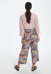 Soaked in Luxury - SLARJANA CULOTTE PANTS - Trousers - multi-coloured - 1
