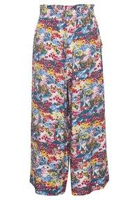 Soaked in Luxury - SLARJANA CULOTTE PANTS - Trousers - multi-coloured - 5