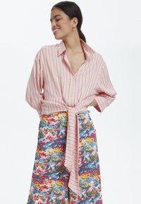 Soaked in Luxury - SLARJANA CULOTTE PANTS - Trousers - multi-coloured - 2