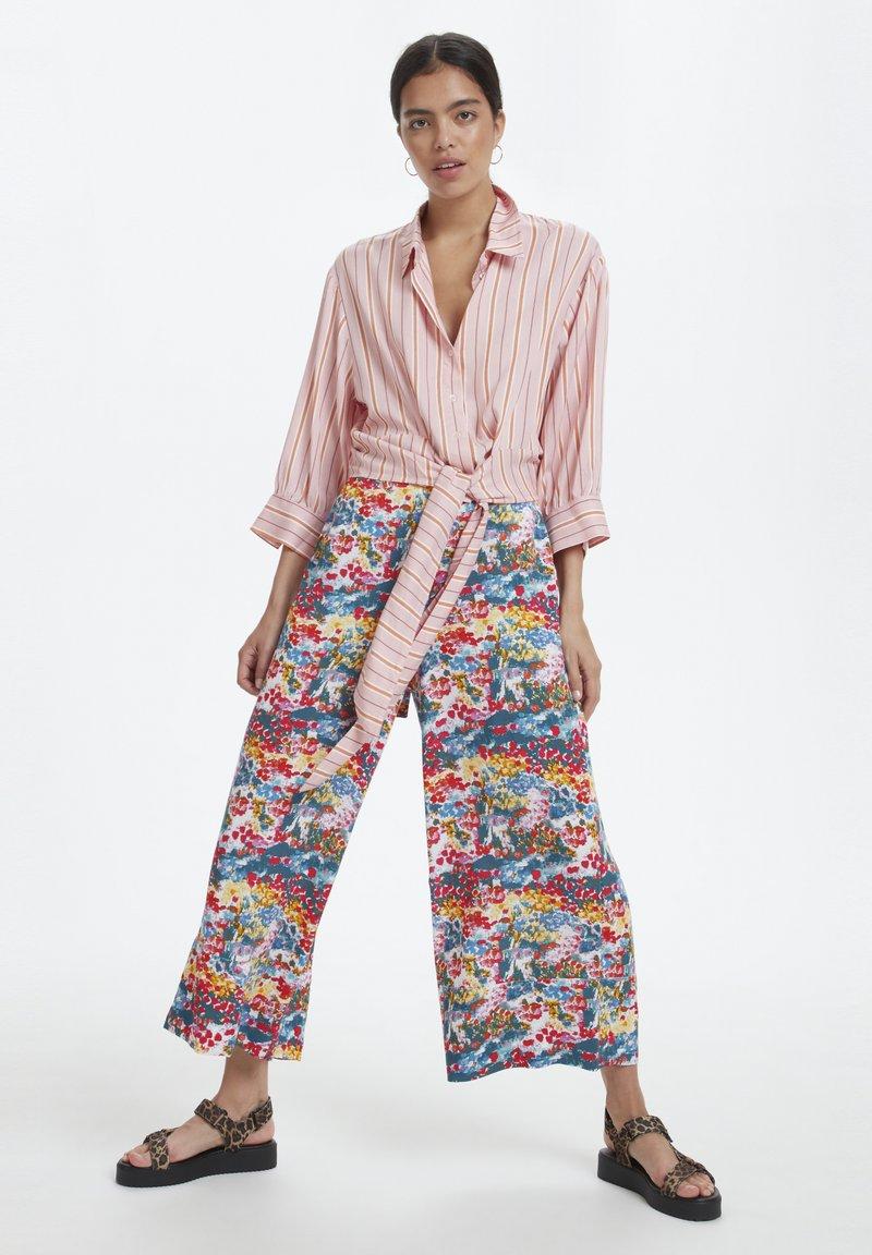 Soaked in Luxury - SLARJANA CULOTTE PANTS - Trousers - multi-coloured