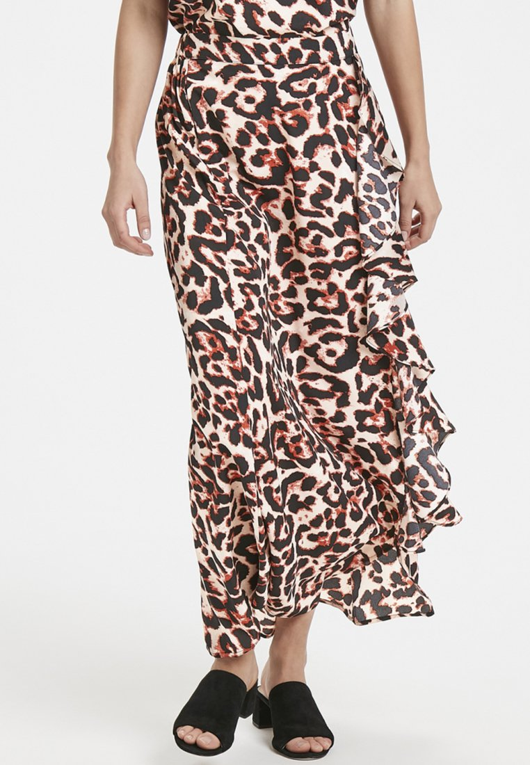 Soaked in Luxury - Maxi skirt - brown