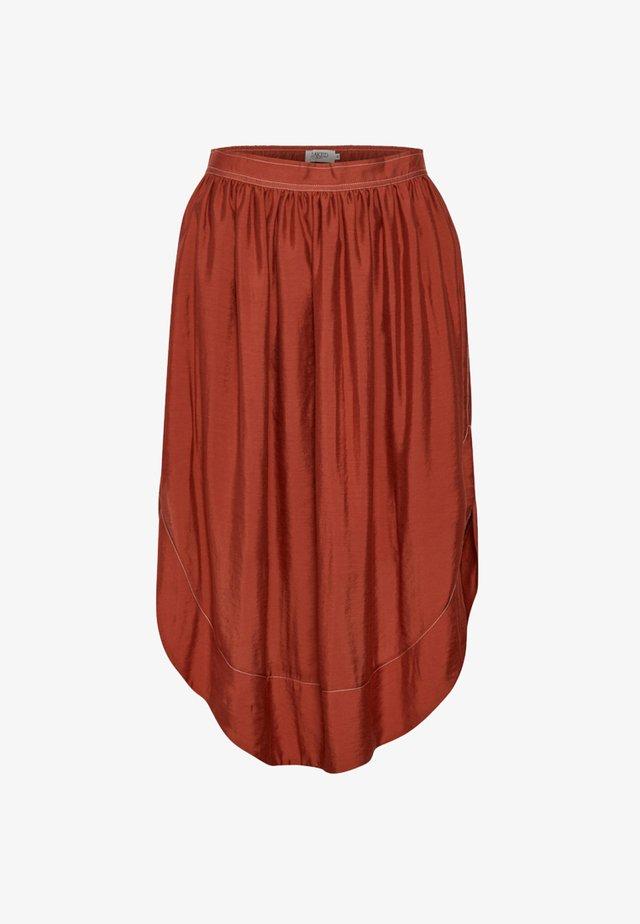 SL CAIRO  - Falda plisada - dark red