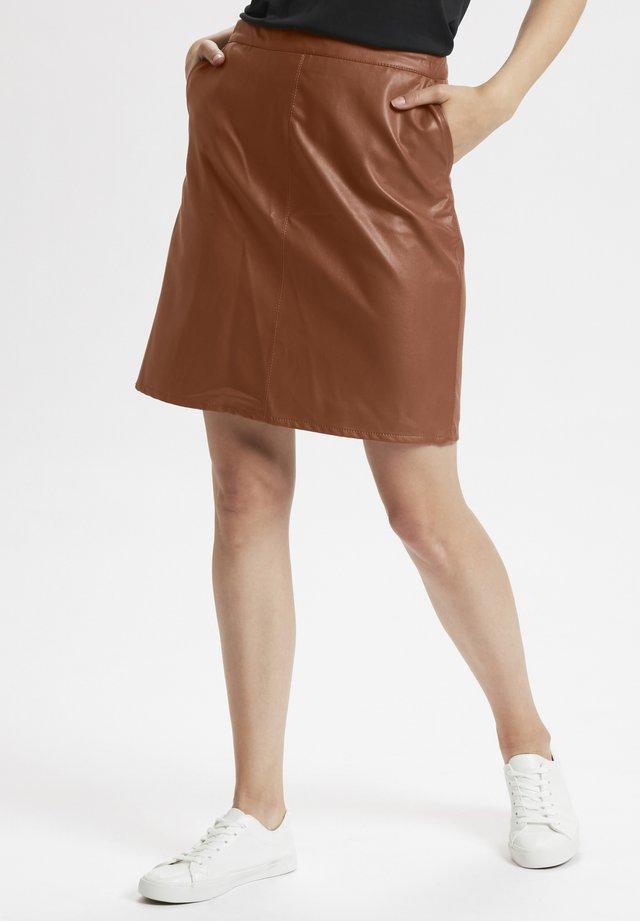 A-snit nederdel/ A-formede nederdele - camel