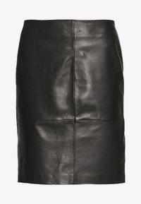 Soaked in Luxury - FOLLY SKIRT - Pencil skirt - black - 3