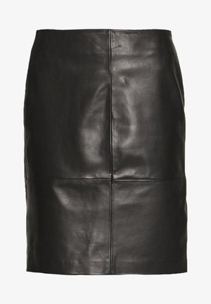 FOLLY SKIRT - Pencil skirt - black