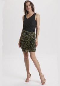 Soaked in Luxury - SLASTRED  - Wrap skirt - black - 1