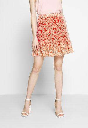 SLALDORA SKIRT - A-line skirt - tangerine tango