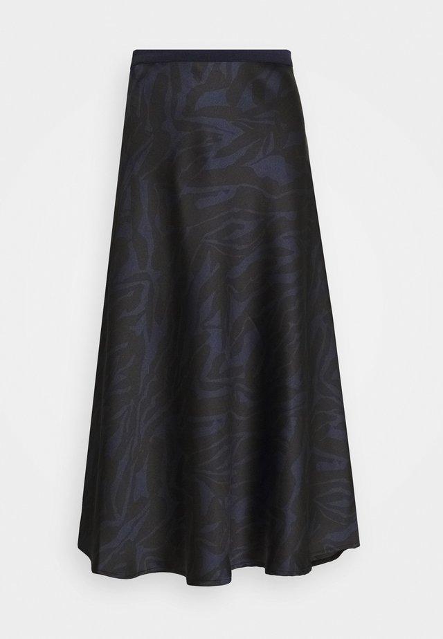 SLEDESSA SKIRT - A-snit nederdel/ A-formede nederdele - shadow/dark blue