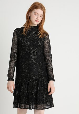 FLYNN DRESS - Cocktailkleid/festliches Kleid - black/gold