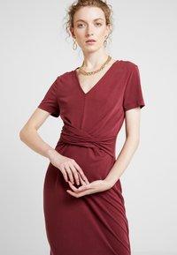 Soaked in Luxury - SEPIA DRESS - Vestido largo - zinfandel - 3