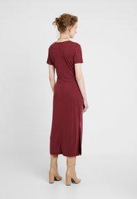 Soaked in Luxury - SEPIA DRESS - Vestido largo - zinfandel - 2