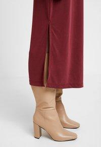 Soaked in Luxury - SEPIA DRESS - Vestido largo - zinfandel - 5