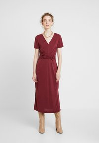 Soaked in Luxury - SEPIA DRESS - Vestido largo - zinfandel - 0