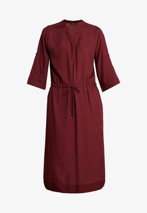 SANDIE ZAYA DRESS - Košilové šaty - zinfandel/black