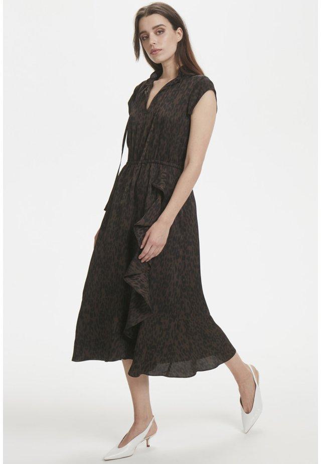 Vestido largo - brown