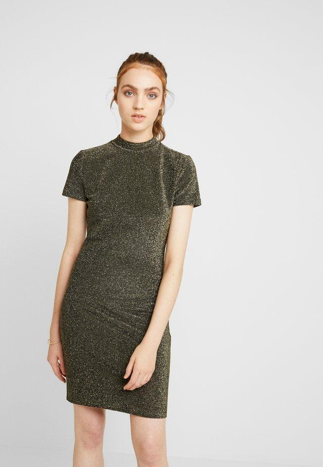 COOPER DRESS - Cocktailkleid/festliches Kleid - gold/black