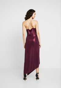 Soaked in Luxury - SLADALYNN STRAPDRESS - Vestido de fiesta - grape wine - 3