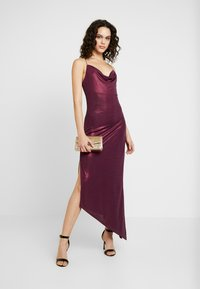 Soaked in Luxury - SLADALYNN STRAPDRESS - Vestido de fiesta - grape wine - 2