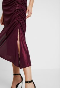 Soaked in Luxury - SLADALYNN STRAPDRESS - Vestido de fiesta - grape wine - 6