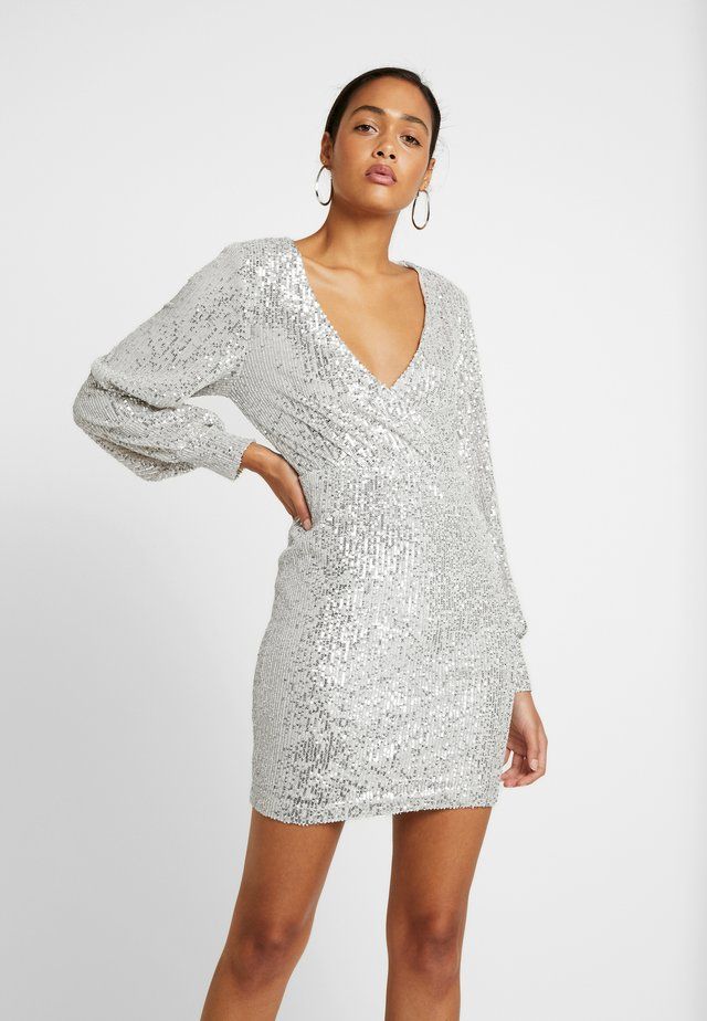 NICOLE DRESS - Cocktailkleid/festliches Kleid - overcast