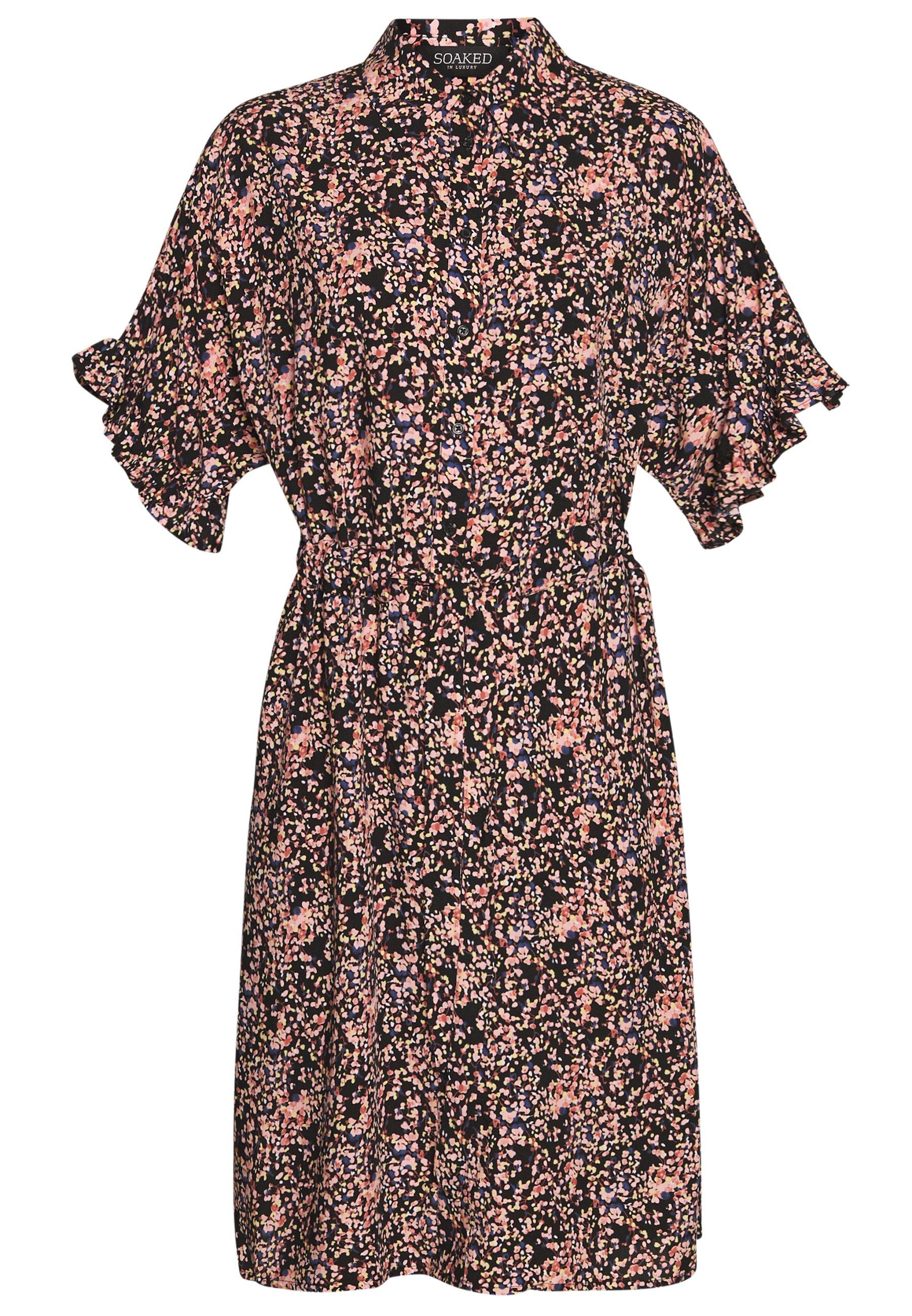 Soaked in Luxury SAPHIRA DRESS - Sukienka letnia - night sky/multi