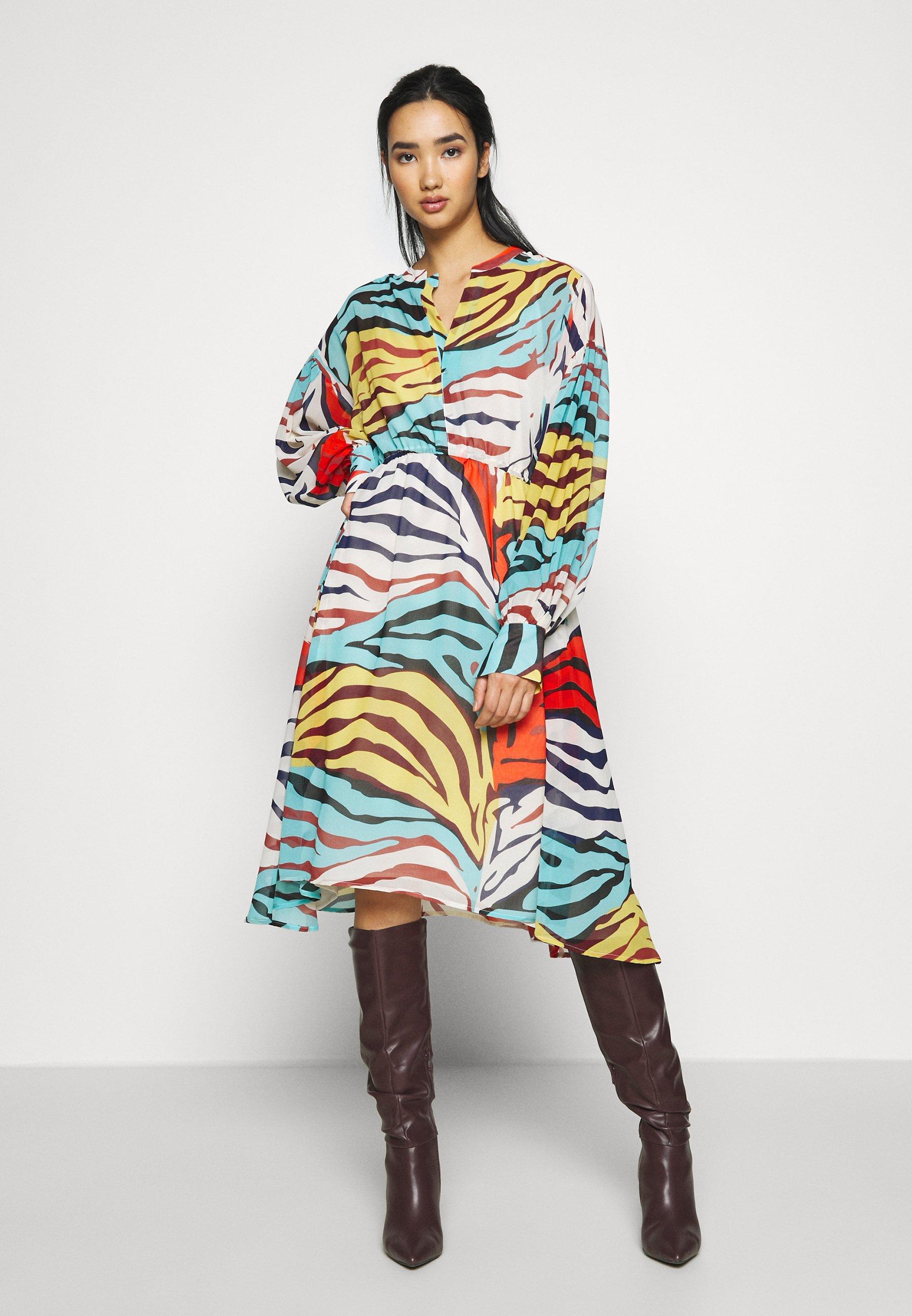 Soaked in Luxury MARIKO DRESS - Sukienka letnia - multi-coloured