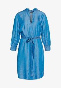 Soaked in Luxury - SLDARIANA TUNIC DRESS - Hverdagskjoler - medium blue - 3